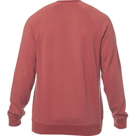 Fox Legacy Crew Neck Fleece Pullover Men bordeaux